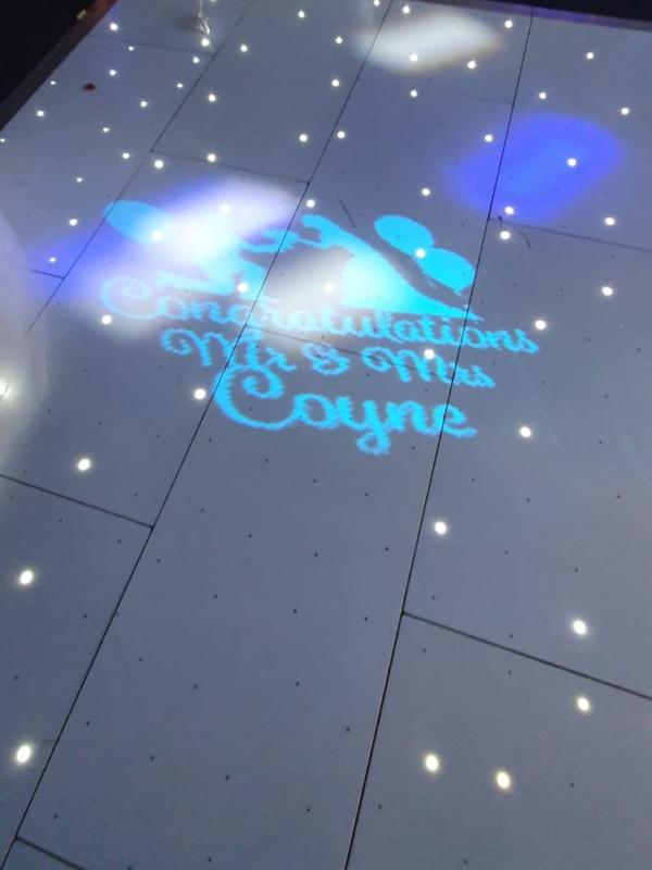 light up dance floor for hire, weddings, sussex