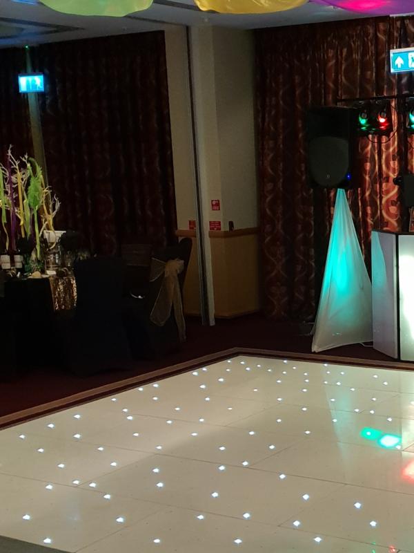 led dance floor hire kent, sussex