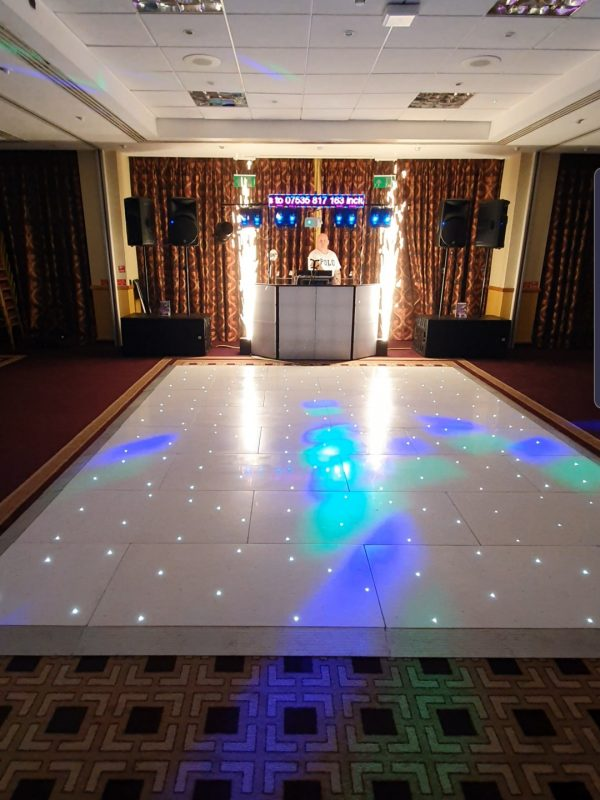 mobile disco, LED dance floor