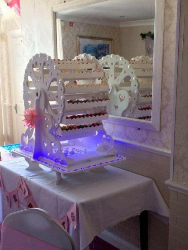 ferris wheel sweet cart