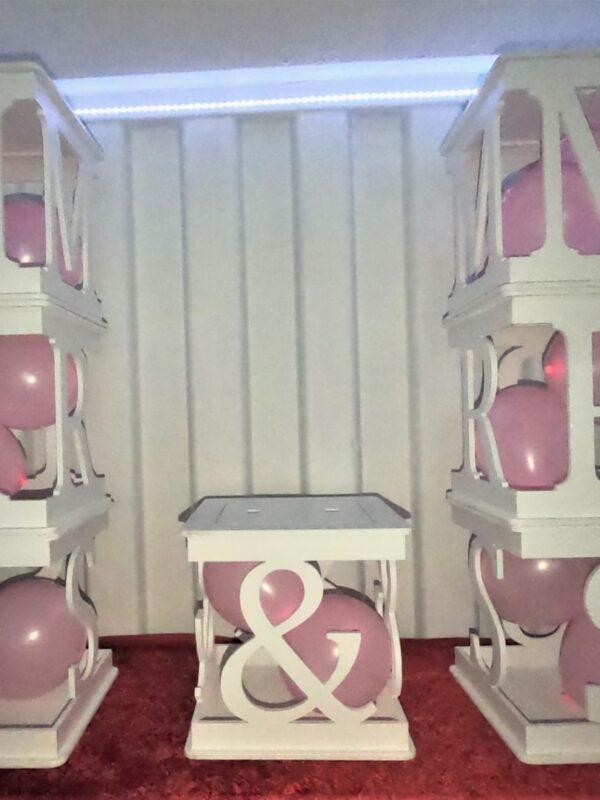 wooden wedding decor ideas