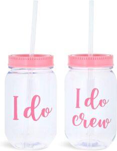 wedding party accessories, I do crew