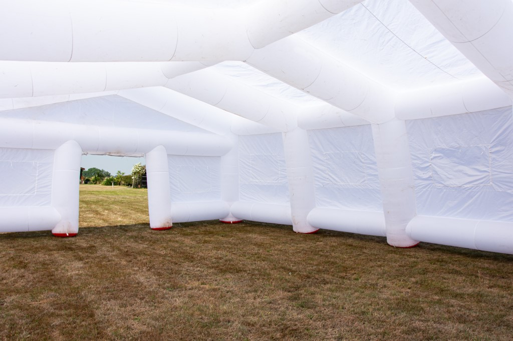 inflatable marquee for parties and events