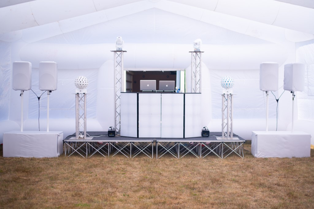 inflatable marquee for disco