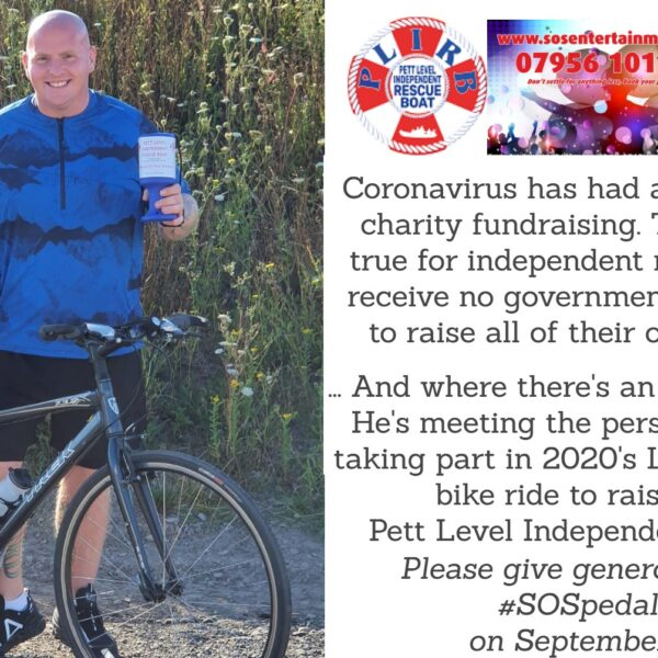 local charity fundraising events, SOS, Pett Level Independent Rescue Boat