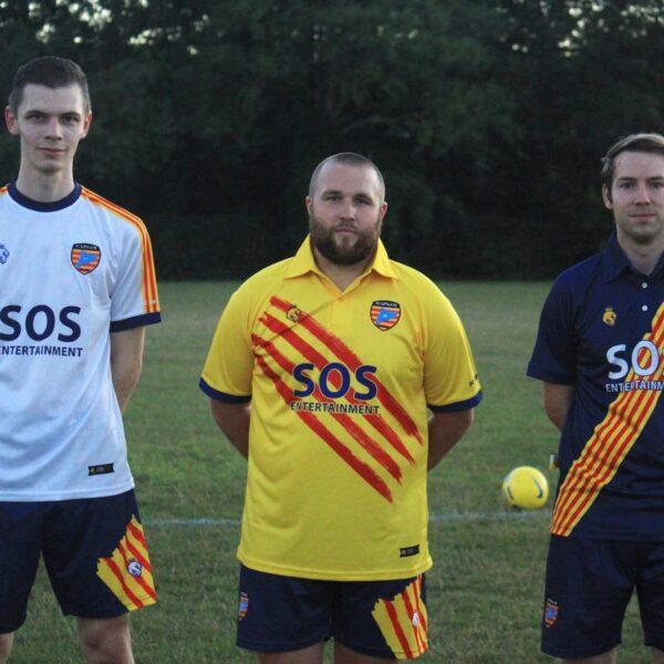 local football team sponsorship, SOS Entertainment