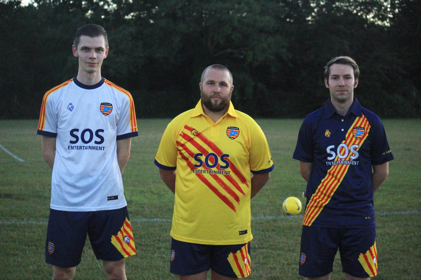 local football team sponsorship, SOS Entertainment