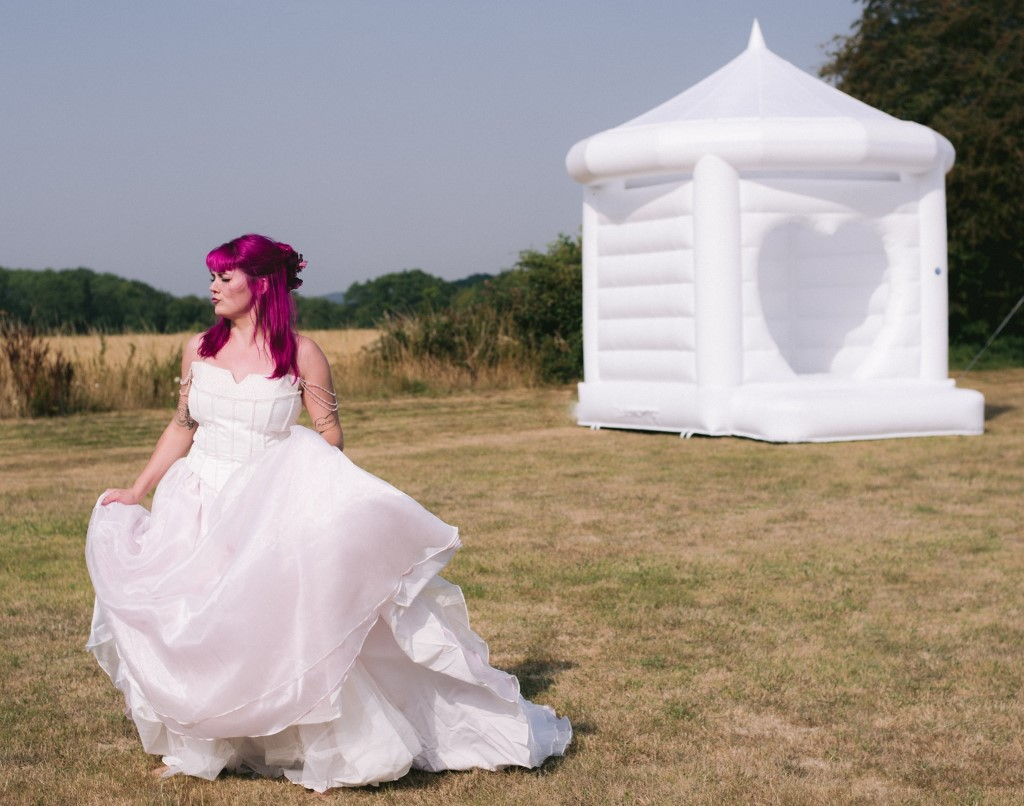 wedding bouncy castle for hire