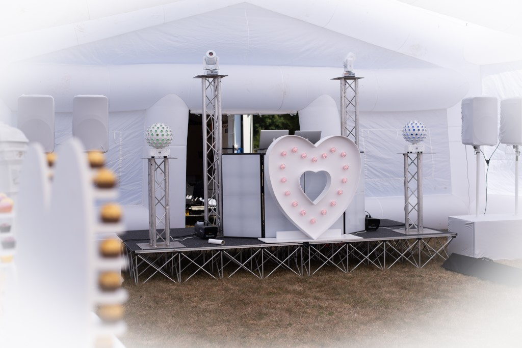 wedding party, inflatable wedding marquee