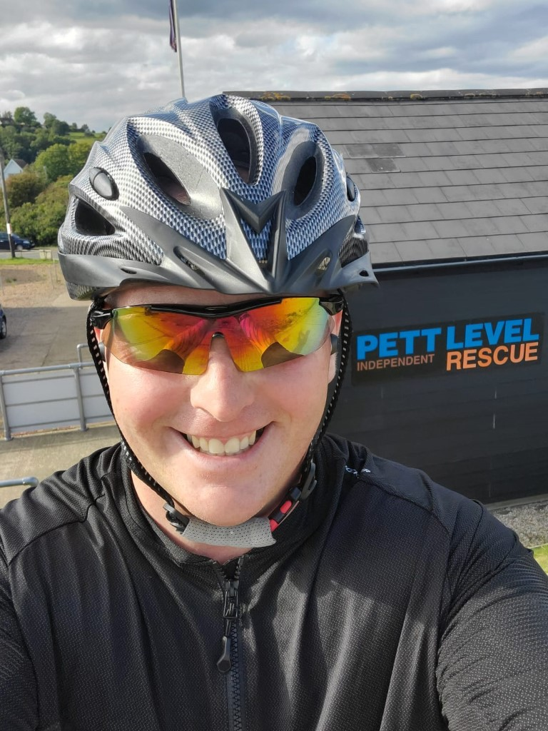 bike ride for charity, Pett Level Independent Rescue Boat