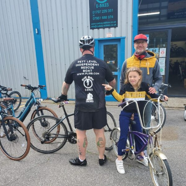 charity support, Rye Bay E-Bikes