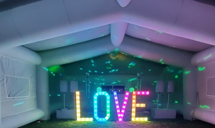 pandemic weddings, wedding marquee to hire
