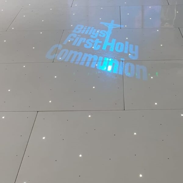 dance floor tiles with LED lighting