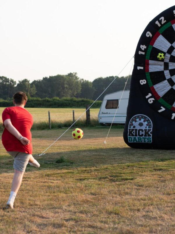 outdoor inflatable dart board, childrens party hire ideas