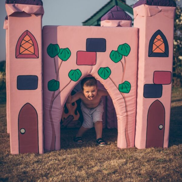fairytale castle, soft play castle to hire