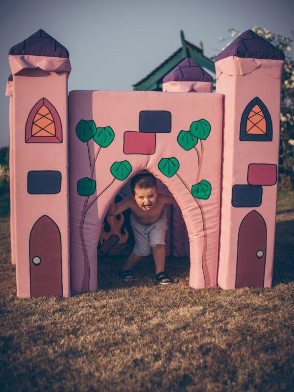 fairytale castle, soft play castle to hire