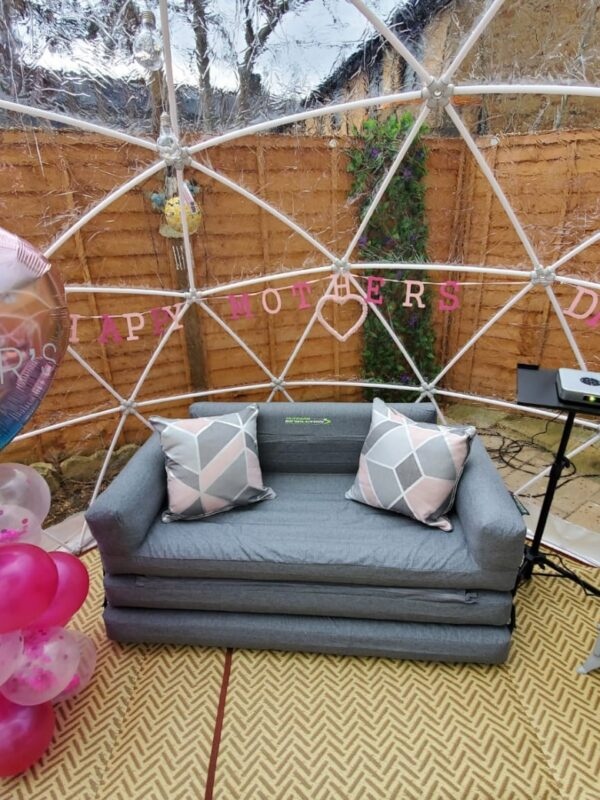igloo dome hire, igloo dome tent, igloo dome garden