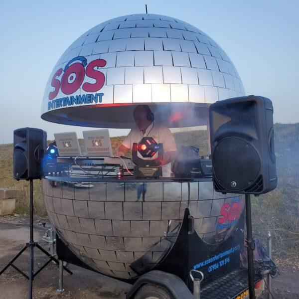 mobile disco, dj to hire