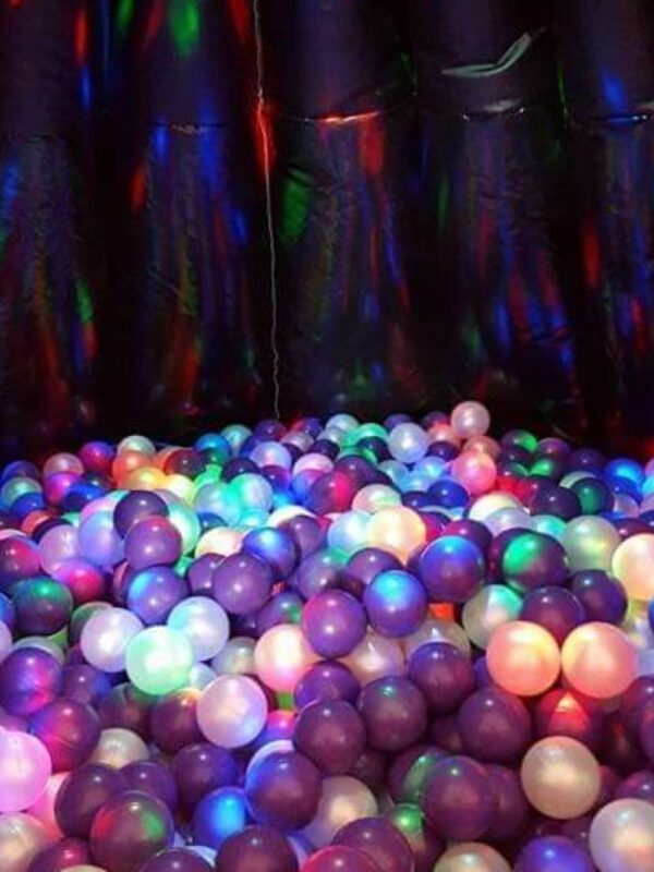inflatable ball pit play tent activity with lights and balls