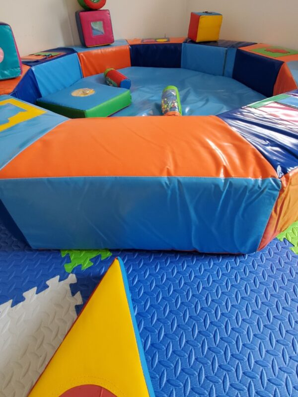 colourful soft play to engage, educate and entertain young children