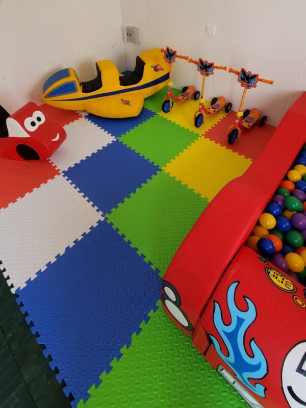 vehicle ball pit and soft play hire in Sussex