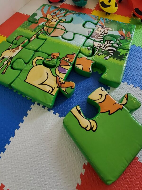 jungle foam floor puzzle