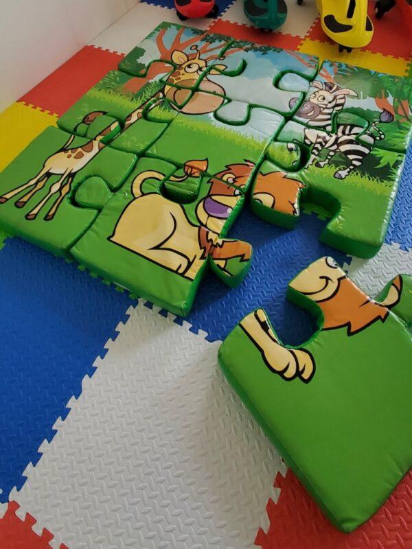 9 piece foam floor puzzle
