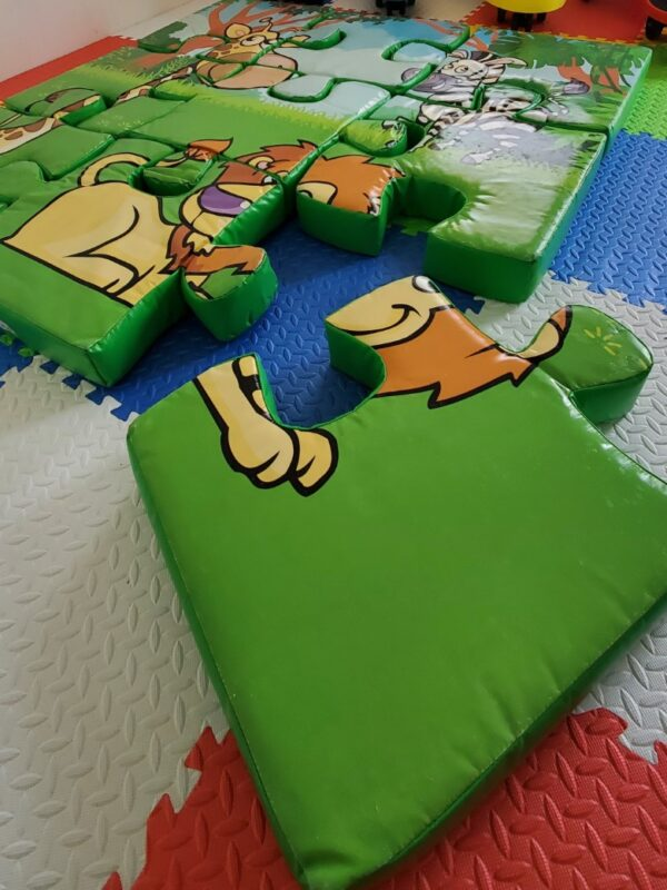 foam floor puzzle with jungle theme for hire in Kent