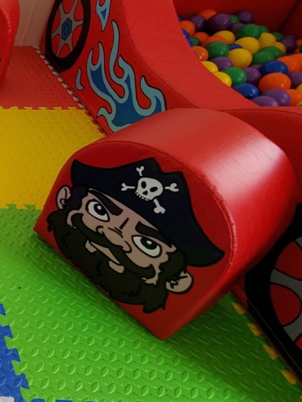 pirate soft play hire for playdates & groups