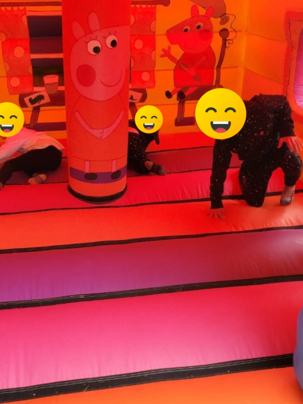 peppa pig theme bouncy house hire