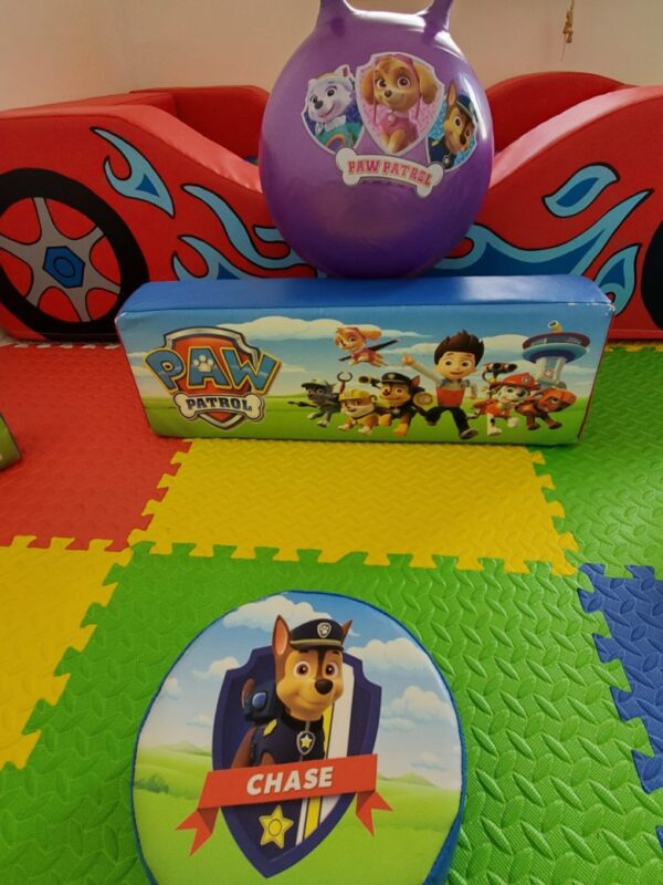 paw patrol soft play set for hire