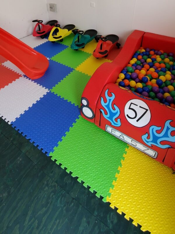 car soft play ball pit hire