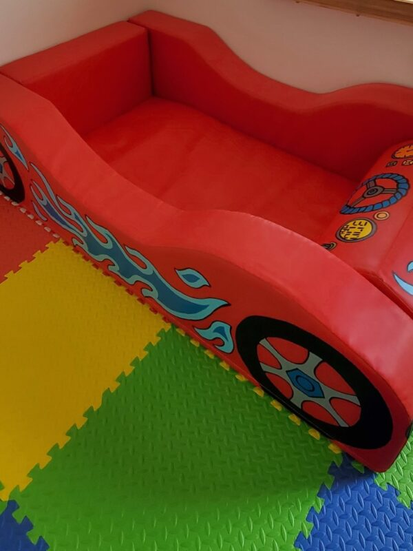 slide, scooter and car ball pit hire