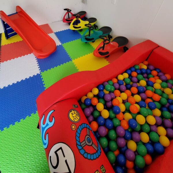 racing car ball pit hire in sussex