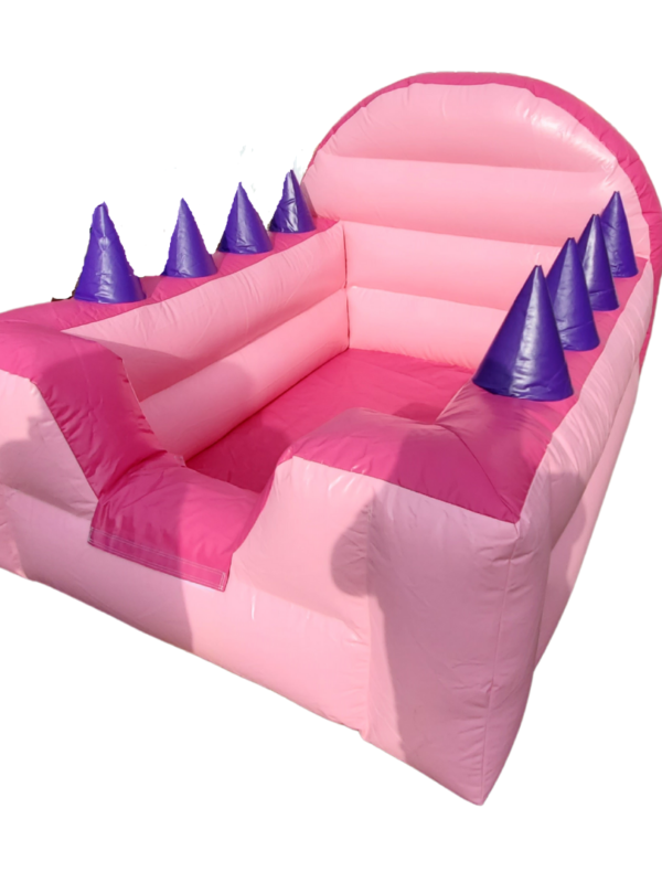 pink ball pit air blower for hire in Kent, play dates, parties