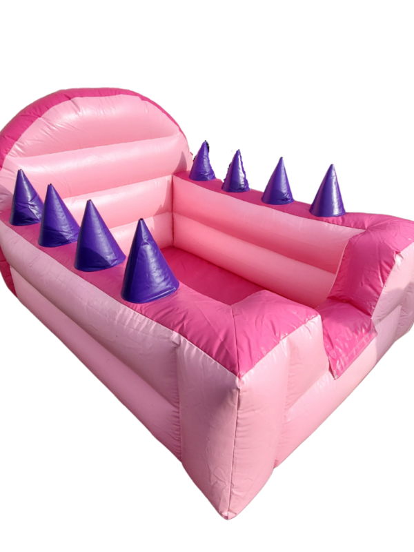 pink air blower ball pit for hire, Kent play dates