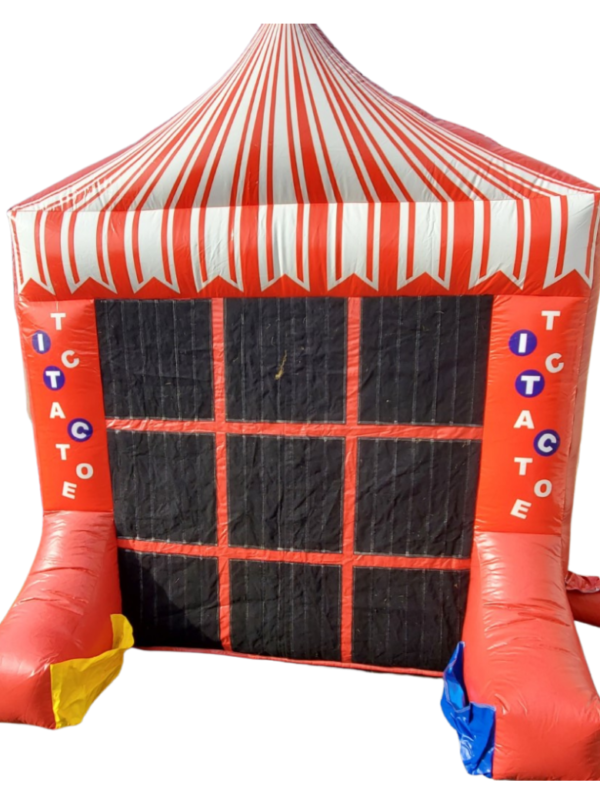 connect 4 inflatable & tic tac toe game for hire
