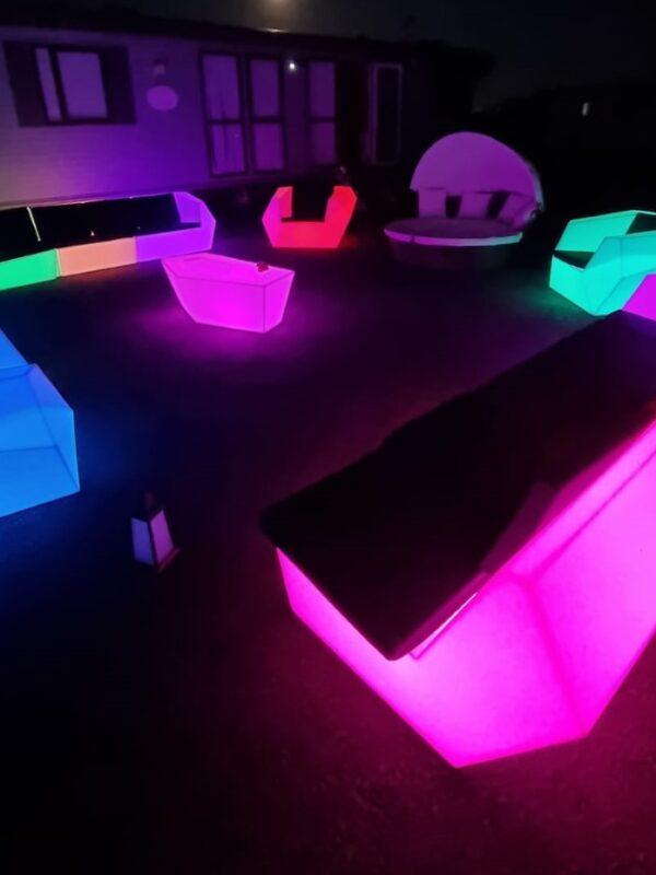 led furniture hire kent, sussex