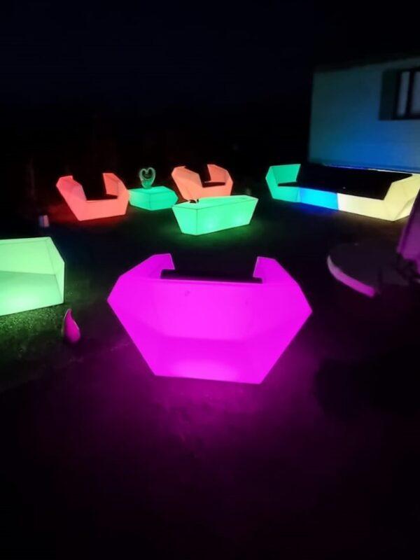led garden furniture hire, Kent & Sussex