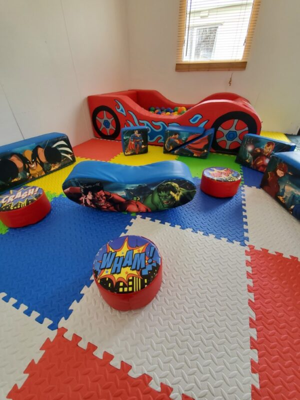 toddler soft play equipment for hire, kent & sussex