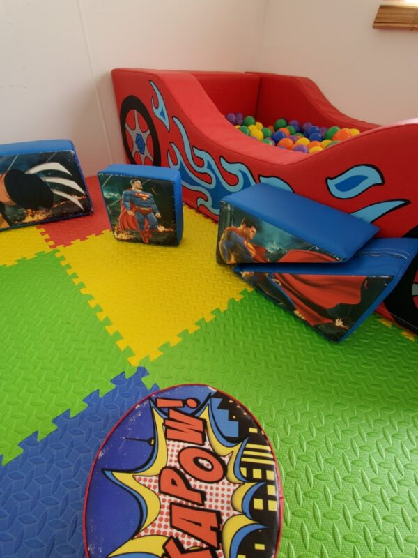 soft play equipment for hire, sussex & kent