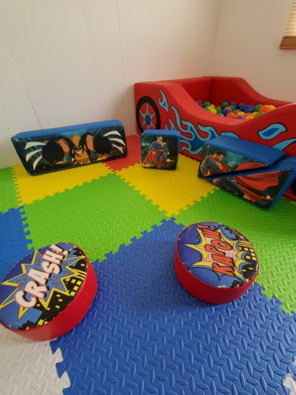 soft play equipment for hire, sanitised