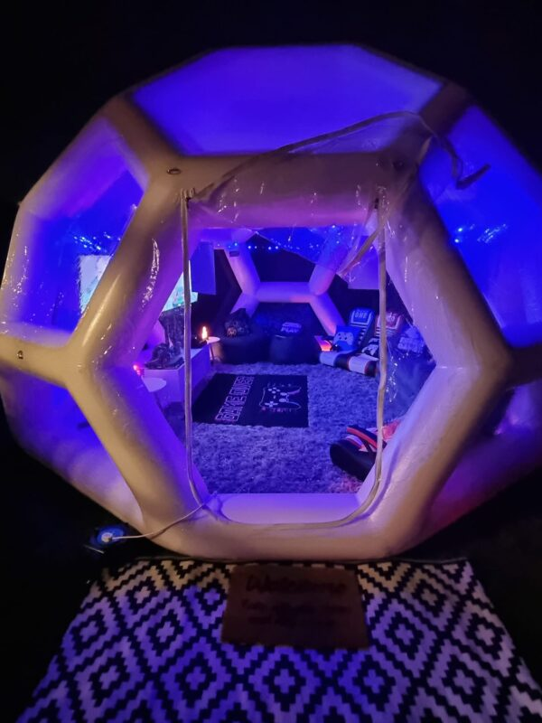 gaming pod hire for parties