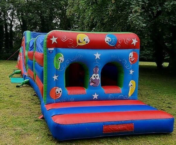 activity bouncy castle, fun house bouncy castle, hire