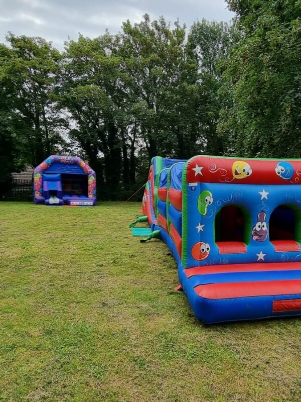 nemo bouncy castle, activity bouncy castle hire