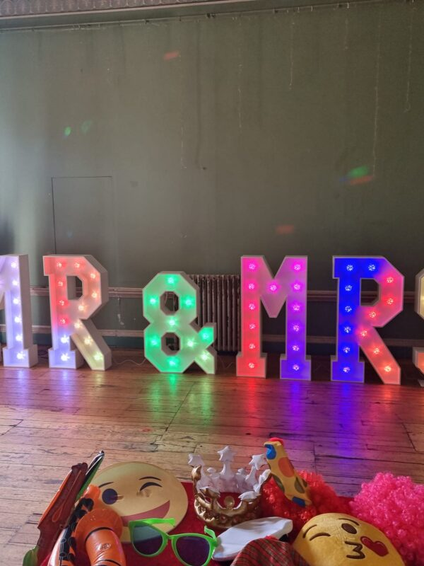 mr and mrs lights hire sussex